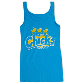 Women's Athletic Tank Top Chicks On A Run
