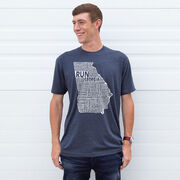 Running Short Sleeve T-Shirt - Georgia State Runner