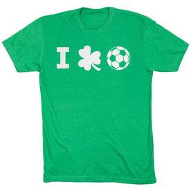 Soccer Tshirt Short Sleeve I Shamrock Soccer