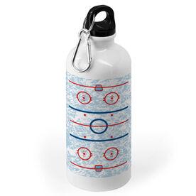Hockey 20 oz. Stainless Steel Water Bottle - Rink