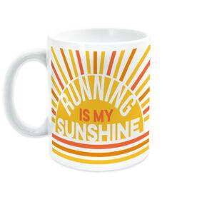 Running Coffee Mug - Running Is My Sunshine