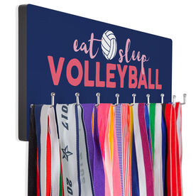 Volleyball Hook Board Eat Sleep Volleyball