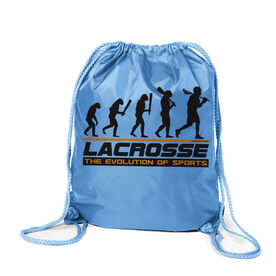 Evolution of Lacrosse Sport Pack Cinch Sack
