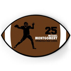 Football Plaque - Quarterback With Text