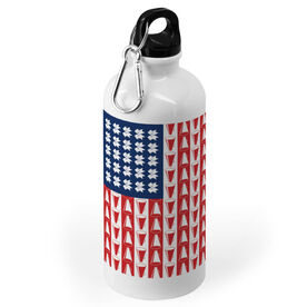 Cheerleading 20 oz. Stainless Steel Water Bottle - Cheer For America
