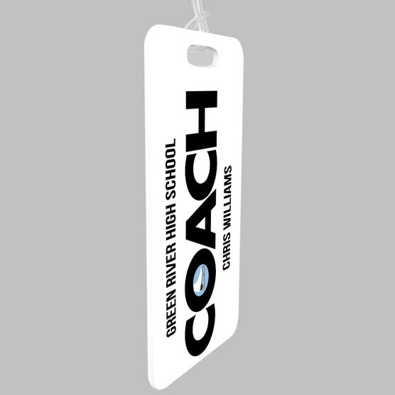 Figure Skating Bag/Luggage Tag - Personalized Coach
