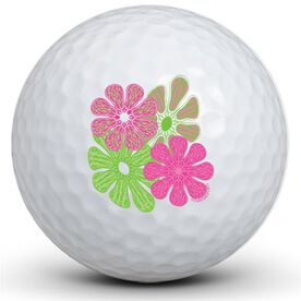 Lacrosse Flower Golf Balls