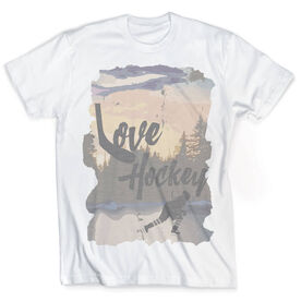 Vintage Hockey T-Shirt - Love The Game