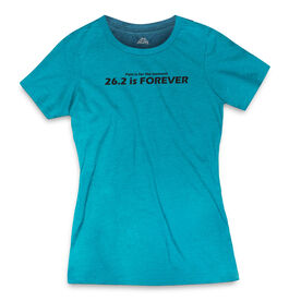 Women's Everyday Runners Tee 26.2 is Forever