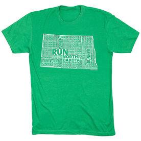 Running Short Sleeve T-Shirt - North Dakota State Runner