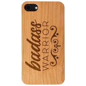 Engraved Wood IPhone® Case - Badass Warrior