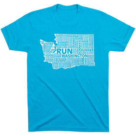 Running Short Sleeve T-Shirt - Washington State Runner