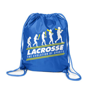 Guys Lacrosse Sport Pack Cinch Sack - Evolution of Lacrosse