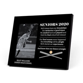 Baseball Photo Frame - Seniors 2020 Our Future Is Bright