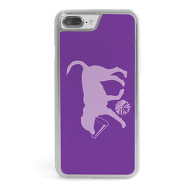 Cheerleading iPhone® Case - Coco The Cheer Dog