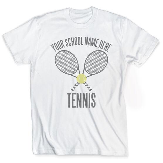 Vintage Tennis T-Shirt - Personalized Team
