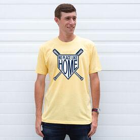 Baseball Tshirt Short Sleeve No Place Like Home