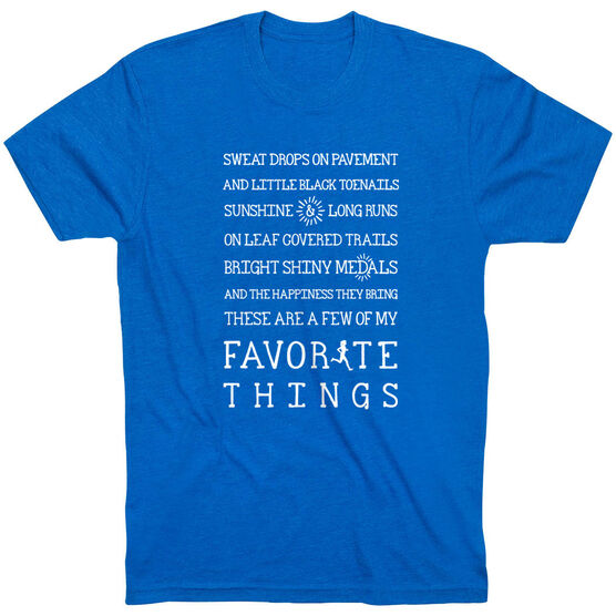 Running Short Sleeve T-Shirt - Runner's Favorite Things