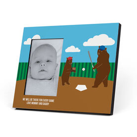 Baseball Photo Frame - Bears