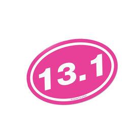 13.1 Pink Mini Car Magnet - Fun Size