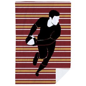 Rugby Premium Blanket - Full Out Run