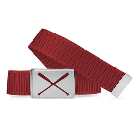 Baseball Lifestyle Belt Baseball Bat Pattern