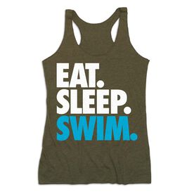 Swimming Women's Everyday Tank Top - Eat. Sleep. Swim
