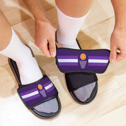Basketball Repwell® Slide Sandals - Simple Stripe