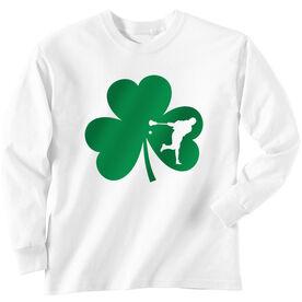 Guys Lacrosse Long Sleeve T-Shirt - Guys Lacrosse Shamrock