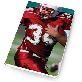 Football Notebook Custom Photo