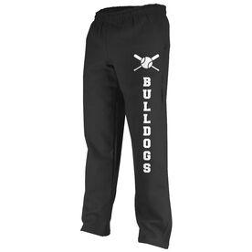 Baseball Fleece Sweatpants Baseball Team Name