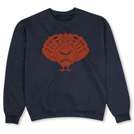 Softball Crew Neck Sweatshirt - Softball Turkey