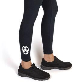 Soccer Leggings - Soccer Ball