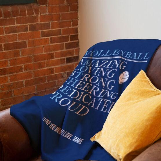 Volleyball Premium Blanket - Mother Words