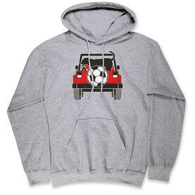 Soccer Hooded Sweatshirt - Soccer Cruiser