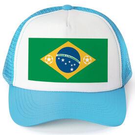 Soccer Trucker Hat - Brazil