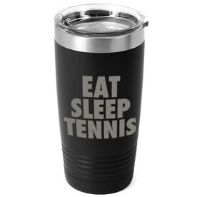 Tennis 20 oz. Double Insulated Tumbler - Eat Sleep Tennis
