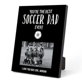 Soccer Photo Frame - You're The Best Dad Ever