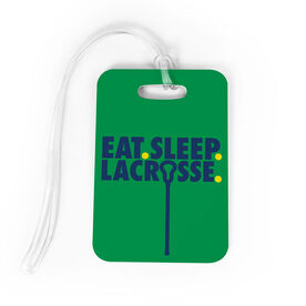 Girls Lacrosse Bag/Luggage Tag - Eat Sleep Lacrosse