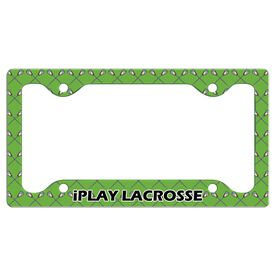 iPLAY...LACROSSE License Plate Holder