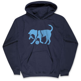 Volleyball Standard Sweatshirt - Volley Ball Dog