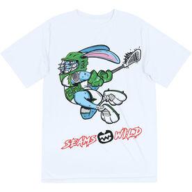 Seams Wild Lacrosse Short Sleeve Tech Tee - Jumpin' Jack