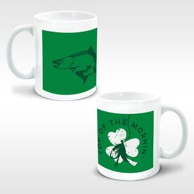 Fly Fishing Coffee Mug Top Of The Mornin' Shamrock