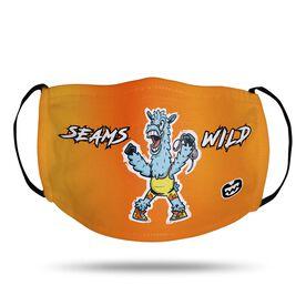 Seams Wild Wrestling Face Mask - Llama Slamma