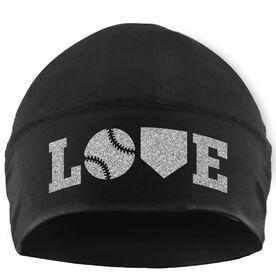 Beanie Performance Hat - Softball Love