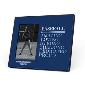 Baseball Photo Frame - Mother Words