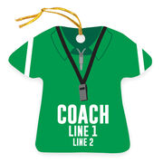 Personalized Ornament - Coach Outfit
