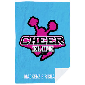 Cheerleading Premium Blanket - Custom Team Logo