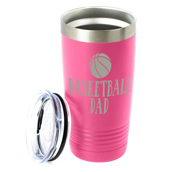 Basketball 20oz. Double Insulated Tumbler - Basketball Dad