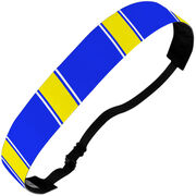 Athletic Juliband No-Slip Headband - Team Color Stripes